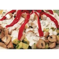 Mantarlı Patatesli Semiz Salata | Oktay Usta