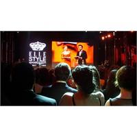 """""""Elle Style Awards 2011"""" Gecesinden En Özel Notlar"""