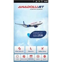 Anadolujet Mobil Android Uygulaması Cebinizde!