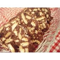 Çikolata Soslu, Böğürtlenli Mozaik Pasta
