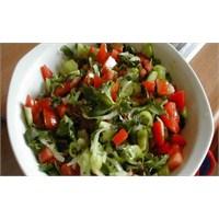 Salatayı Yağsız Yemeyin!