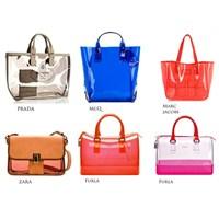 Modası Geldi: Transparan Çantalar