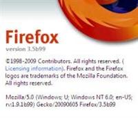 Firefox 3.5 Preview Çıktı!..