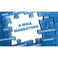 E-mail Yoluyla Uygulanabilecek Pazarlama Stratejil