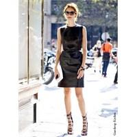 Trend: Siyah Deri Elbise