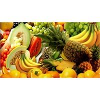 Meyve Ve Sebzeler Şifa Dağıtıyor