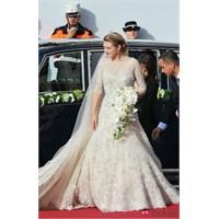 Prenses Stephanie 'nin Elie Saab Gelinliği