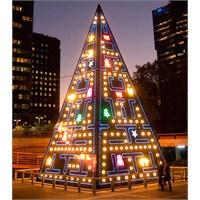 Dünyadan Farklı Yılbası Ağacı Tasarımları.