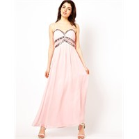 En Moda Elbiseler : Pudra Rengi Modeller