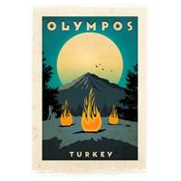 Türkiye Posterleri: Olympos / Yanartaş