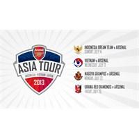 Arsenal Asya Turu Kadrosunu Açıkladı