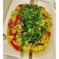 Patlıcan Temalı Reçeteler 1- Köz Patlıcan Salatası