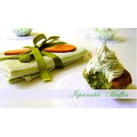 Ispanaklı Fındıklı Muffin Tarifi