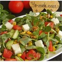 Karışık Semizotu Salatası (Resimli Anlatım)