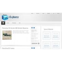 Sade Ve Şık Wordpress G'blog Teması ( Ücretsiz )