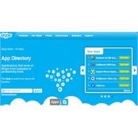 Skype Uygulama Mağazasını Hizmete Açtı