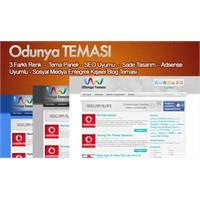 Wordpress Seo Uyumlu Odunya V2 Tema