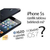 İphone 5s'in Özellik Tablosu Oluşturuldu Mu?