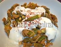 Yoğurtlu Bamya Kızartması: Muhteşem Bir Tat