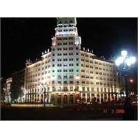 Barselona'nın En Uzun Ve Ünlü Bulvarı - Diagonal