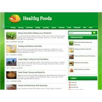 Blogger İçin Mükemmel Yemek Tarifi Teması