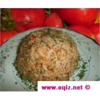 Domatesli Pirinç Pilav Tarifi