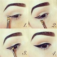 Pratik Eye-liner Nasıl Sürülür?