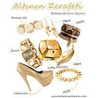 Altın Rengi Aksesuar Modası