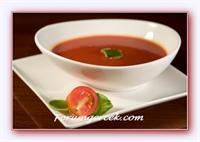 Akdeniz Usulü Şehriyeli Domates Çorbası