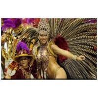 Rio Karnavalı Youtube'da Canlı Yayında