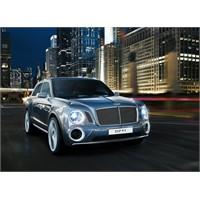 Bentley'den Süper Lüks Suv Modeli Exp 9 F