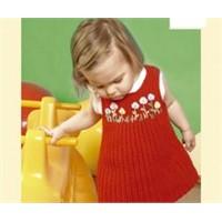 Sade Ve Güzel Bebek Elbisesi