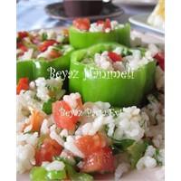 Rengarenk Pirinç Salatası