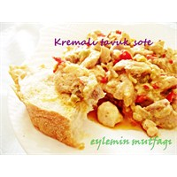 Enfes Kremalı Tavuk Sote