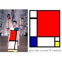 Moda Endüstrisinde Mondrian Etkisi