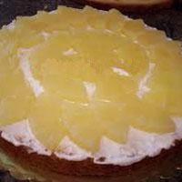 Kolay Ananaslı Pasta