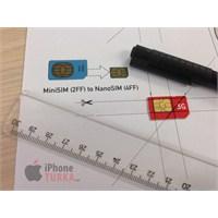 İphone 5 İçin Nano Sim Kart Nasıl Yapılır?