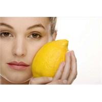 Limonu Saçlarımıza Sürdüğümüzde Neden Sertleştirir
