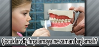 Çocuklar Diş Fırçalamaya Ne Zaman Başlamalı?