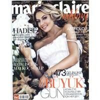 Hadise Marie Claire Wedding Kapağında Kasım 2013