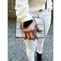 Ne Giydim / Beyaz İpek Gömlek