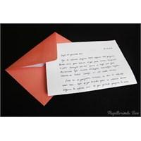 #3 Gelecekteki Ben'e Mektup Yazdım