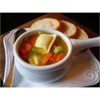 Mantı Ravioli Çorbası