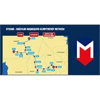Otogar-bağcılar-başakşehir-olimpiyatköy Metrosu