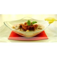 Safranlı Tavuk Ve Çakma Paça Çorbası