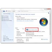 Windows 7'de Bilgisayarınızın Puanını Değiştirin