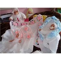 Yeni Doğan Bebekler İçin Üç Farklı Örgü Battaniye