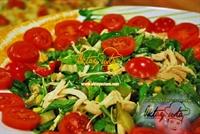 Rokalı Portakal Soslu Salata