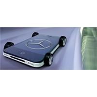 Mercedes İphone'u Araçlarına Entegre Ediyor