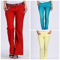 Collezione'dan Renkli Pantolon Modası